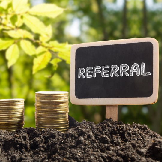 Referral recruitment is een voedingsbodem